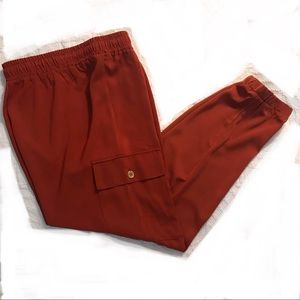 Michael Kors rust cargo pants